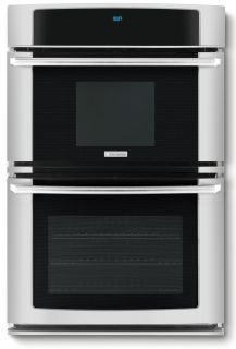 Electrolux 27 inch Stainless Steel Electric Wall Oven Microwave Combo EW27MC65JS