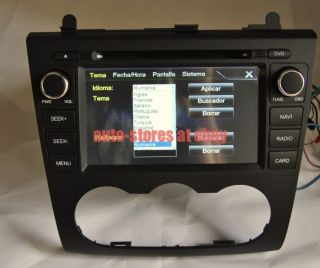 In Dash Car DVD Player GPS Radio Navigation Stereo 7'HD LCD for Nissan Altima
