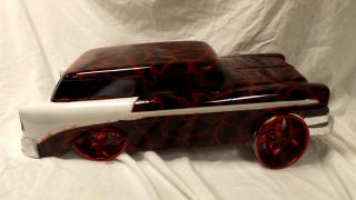 Custom Painted RC Body Traxxas 1956 Chevy Nomad 200mm Car Truck Motor Battery