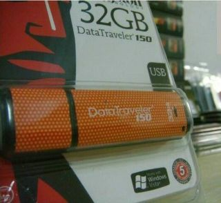 Kingston DataTraveler 150 32 GB USB Flash Drive 740617138528