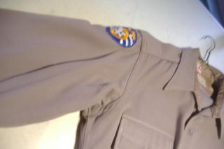 Vintage WWII Army Military US Officers Lt Uniform 5th Air Force Shirt Pants 1 4