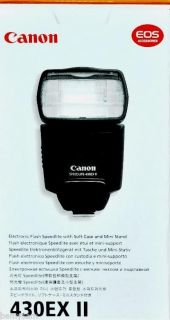 Brand New Canon Speedlite 430EX II Shoe Mount Flash for Canon EOS 013803099805
