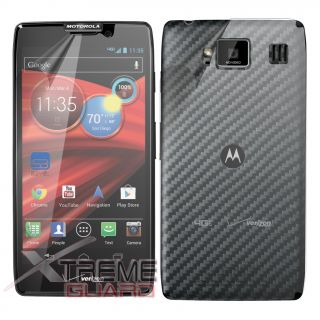 XtremeGuard LCD Full Body Screen Protector Skin for Motorola Droid RAZR Maxx HD