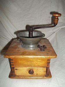 Antique Cast Iron Coffee Grinder