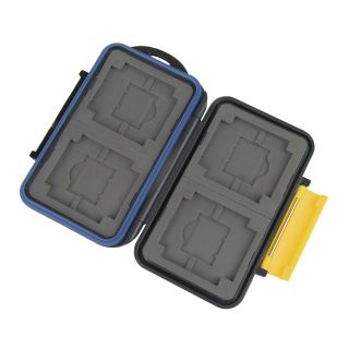 JJC Water Proof CF Micro SD Memory Stick Pro Duo XD Memory Card Case MC 3