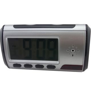 Spy Electronic Digital Alarm Clock Camera Video DVR Recorder Black Fast USA SHIP