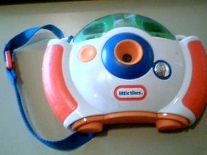 Little Tikes Company Little Tikes My Real Digital Camera Kids Camera Used Wear