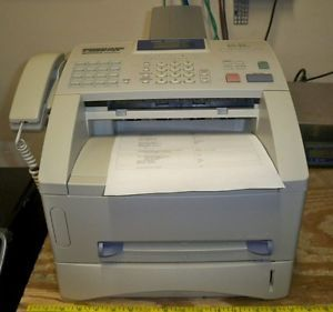 Brother Intellifax 4750e FAX4750E Laser Fax Machine Page Count Unknown 12502602835