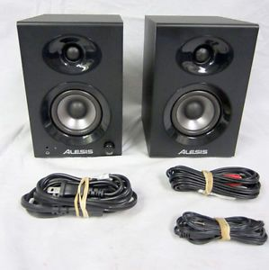 Alesis Elevate 3 Studio Monitors 60W High Fidelity Powered Desktop Speakers