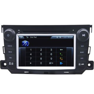Car GPS Navigation Radio HD Touch Screen TV DVD Player for 2012 13 Smart Fortwo