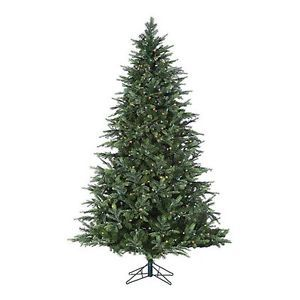 Christmas Tree Artificial Multicolored Pre Lit Sterling 7 ft Fairmont Pine New