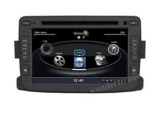 S100 Car DVD Player GPS Navigation Radio for Renault Duster 3G WiFi Internet