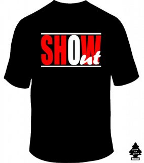 Show Out Juicy J Young Jeezy Big Sean Red Trend Rap Hip Hop Swag Club T Shirt