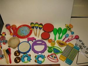 Childrens Musical Instruments Lot Baby Daycare Preschool Educational Toy Lot