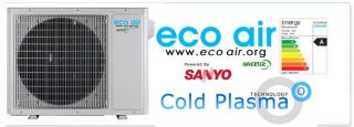18000 BTU Cold Plasma Inverter Split Air Conditioning