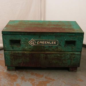 "Greenlee 2448 23273 Mobile Storage Chest Tool Box 48""x 24""x 24"" 16 CU Ft"