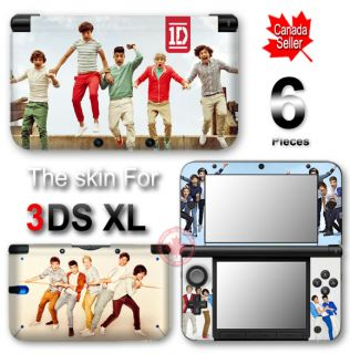 One Direction New Pupular Stars Yinyl Skin Cover Sticker 2 for Nintendo 3DS XL