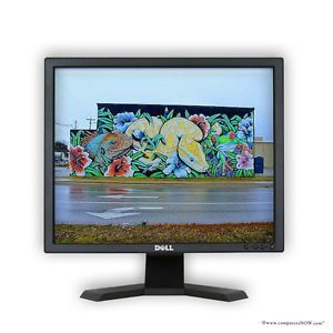 "Refurbished Dell E190S 19"" Flat Panel LCD Monitor 1280 x 1024 5 MS Grade A"