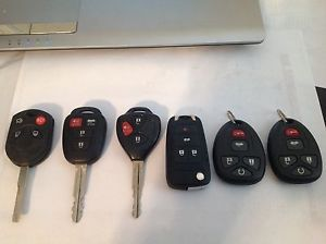 Lot of 6 Keyless Entry Remotes Fobs Ford Toyota Scion Chev
