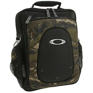 New Oakley Vertical Laptop Computer Bag 3 0 Black Jungle Camo Men's 92133