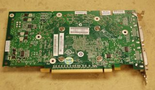 HP NVIDIA Quadrofx 1500 Graphics Video Card PCI E Dual DVI 256MB 413109 001