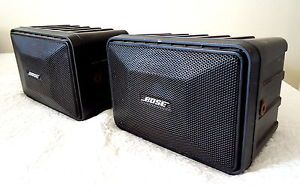 Bose Speakers Model 121 Mobile Monitor Indoor Outdoor Car Speakers RARE