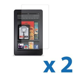 2 Clear LCD Screen Protector Film Cover Shield Guard for  Kindle Fire
