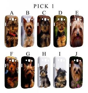 Yorkshire Terrier Yorkie Dog Puppy Samsung Galaxy s 3 III Hardshell Case Pick 1