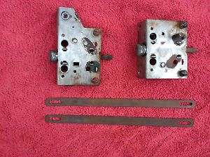 1939 1940 1941 1942 Chevy Pickup Truck Pair of Door Latches and Latch Remotes