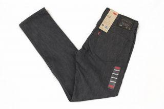 Levis 510 Jet 055104173 Mens Skinny Fit Jeans Black