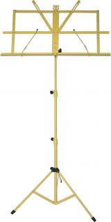 Audio2000's AST4442YL Yellow Adjustable Portable Sheet Music Stand w Bag Mr