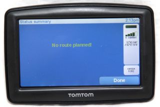 TomTom One XL 310 GPS Receiver Navigation System Free USA Map Updates N14644