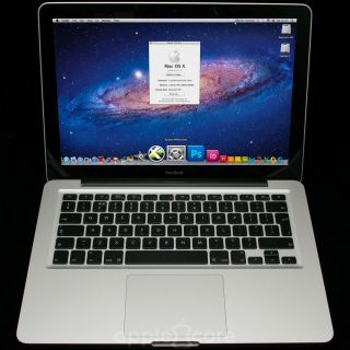"Apple MacBook Pro 13"" 2 4GHz Unibody Laptop 6GB New 640GB Dual PC Mountain Lion"
