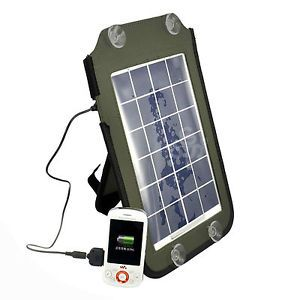Solar Power USB Battery Charger