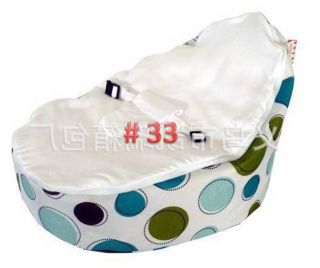 New Various Print Baby Bean Bag High Quality Todler Kid Portable Seat Unfilled