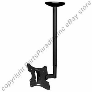 "To 37"" TV HDTV Plasma LCD Monitor Ceiling Mount for Sony Samsung Vzio Panasonic"