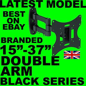 Cantilever Tilt Swivel Wall Mount Vesa Bracket LED LCD TV Samsung Sony LG 223