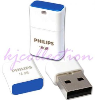 Philips Pico 16GB 16g USB Flash Drive Nano Mini Pocket Size Memory Disk
