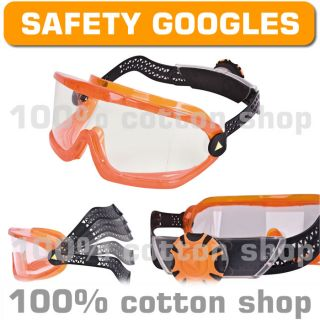 Venitex Saba Clear Safety Googles Glasses Specs Latex Grinding Metalwork