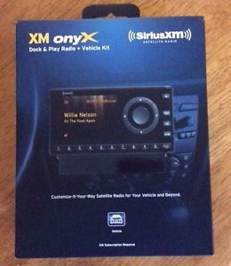 Sirius XM Onyx Dock and Play Radio Vehicle Kit XDNX1V1 778890206849