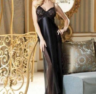 Shirley of Hollywood Shiny Lycra and Stretch Lace Long Gown Style 3234