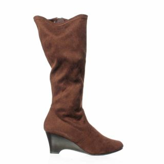 Karen Scott Lena Knee High Boot Brown 7 5