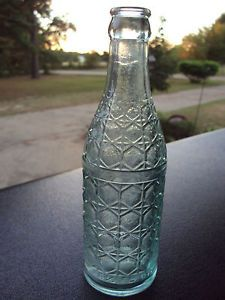 Old Deco Style Soda Bottle Stamps Bottling Works Stamps Arkansas