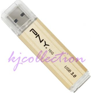 PNY Attache Bar 16GB 16g USB 3 0 Flash Pen Drive Disk Memory Thumb Stick Metal