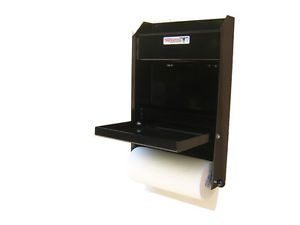 Black Aluminum Work Station Storage Cabinet Race Car Trailer