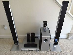 Panasonic SC HT940 5 1 Channel 5 Disc DVD Home Theater Surround Sound System
