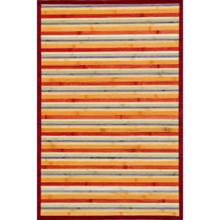 Majestic Rugs Jade Multi Rust Rug