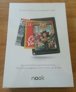 Barnes Noble Nook HD 32GB Wi Fi 9in Slate Brand New Factory SEALED
