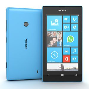 Nokia Lumia 520 Blue Unlocked Smartphone Cell Phone New Mint Condition Windows 8