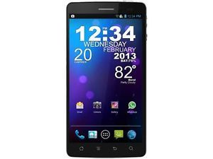 Blu Quattro 5 7 HD D460 Black Quad Core 1 5GHz Unlocked Cell Phone